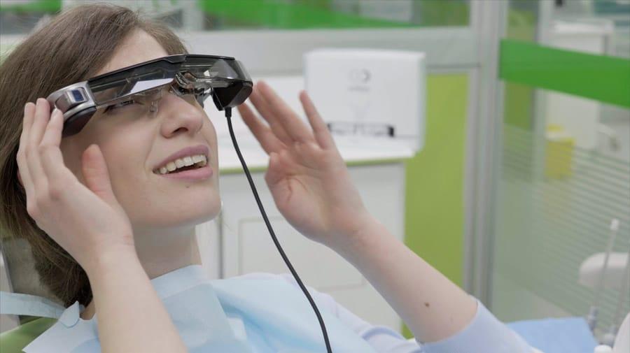 gafas realidad virtual para beneficio de nuestros pacientes