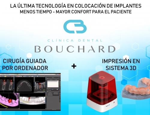 Impresión 3D en Clínica Dental Bouchard